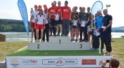 Die Ergebnisse von Samstag (Olympischen Distanz, Staffel und Regionalliga)